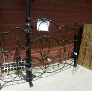 Wrought Iron Bed Frames King Size King Size Wrought Iron Foot Board And Bed Frame 30125201 Home And Garden