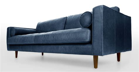 article sven sofa review blue leather tufted sofa upholstered article sven