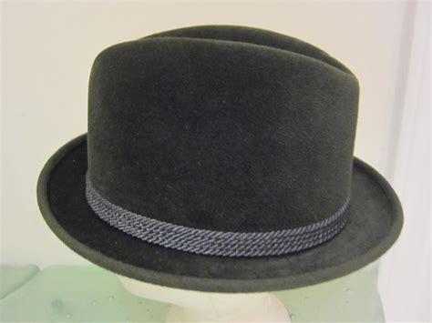 Imported Feather Fedora 3 vintage mens fedora hat beaver twenty imported velour fur