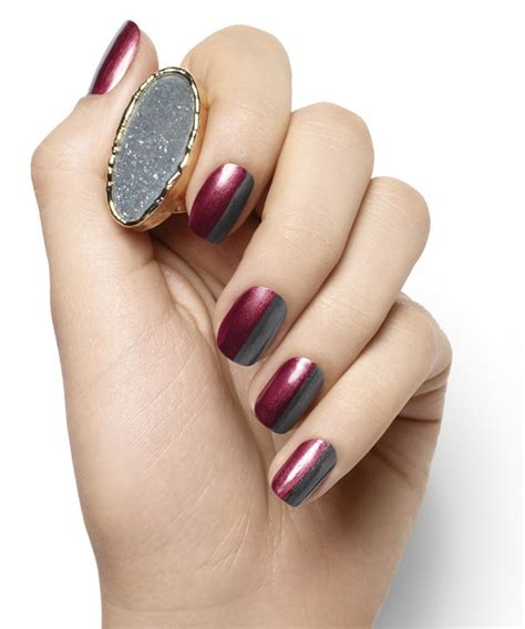 burgundy nail color burgundy nails rich manicure color for every season of