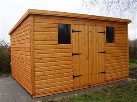 pent roof 16 x 10 standard shed garden sheds mega sheds