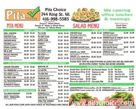 pit restaurant menu 17 best images about restaurant menus of toronto on