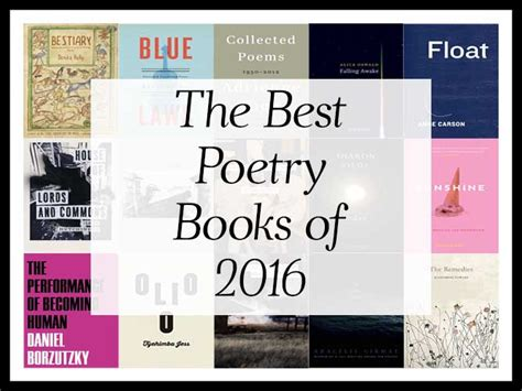 rhymes for the end times the book of revelation in rhyme books the best poetry books of 2016 a year end list aggregation