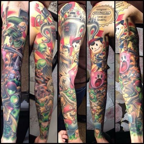 tattoo ideas video games video game tattoos for men gamer tattoo ideas for guys