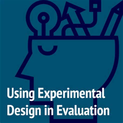 experimental design guidance resources brad rose consulting program evaluators