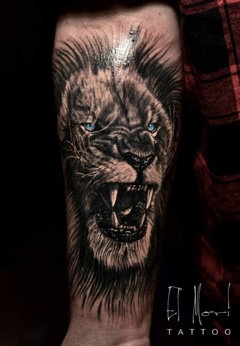 black lion tattoo designs black and grey my tattoos