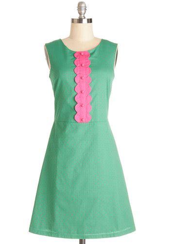 Casual Dress Sweet Mocca Polka torte and sweet dress mod retro vintage dresses
