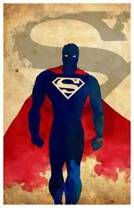 Super Minimalist superman minimalista comprar por minimalistprints superman minimalista