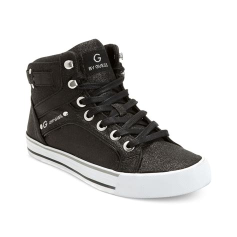 g by guess sneakers g by guess g by guess womens shoes opall2 hi top sneakers