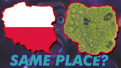fortnite and poland is the fortnite map actually poland fortnite theories