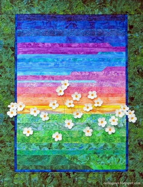 70 best images about my landscape quilts on