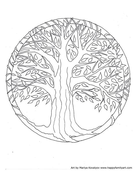 coloring page tree of life celtic tree of life coloring pages for adults coloring pages