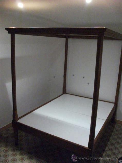cama dosel madera cama de dosel en madera maziza desmontable se comprar