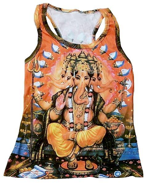 ganesh tattoo prices lord ganesh ganesha hindu tattoo goa tank top shirt s m 20222