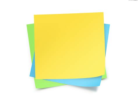 sticky note template paper notes template psdgraphics