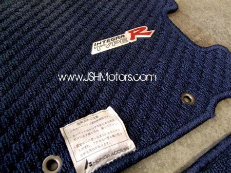 Integra Type R Floor Mats by Jdm Integra Dc5 Type R Blue Floor Mats Set