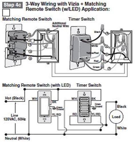 leviton timer switch wiring diagram ltb30 1lz 3 way wiring with vizia matching leviton knowledgebase