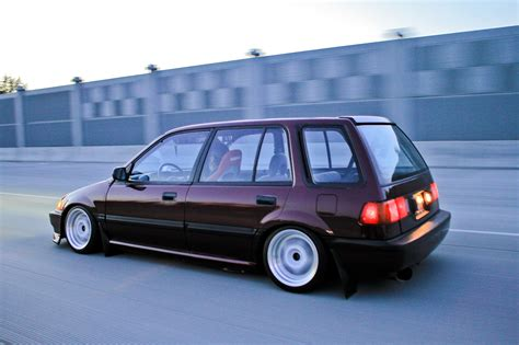 nissan stanza wagon slammed honda civic wagon slammed hd wallpapers wallpaper cars