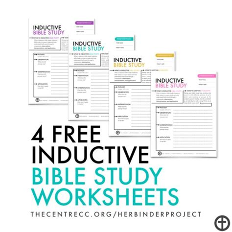 Bible Study Worksheets by 4 Free Inductive Bible Study Worksheets Let S Inspire