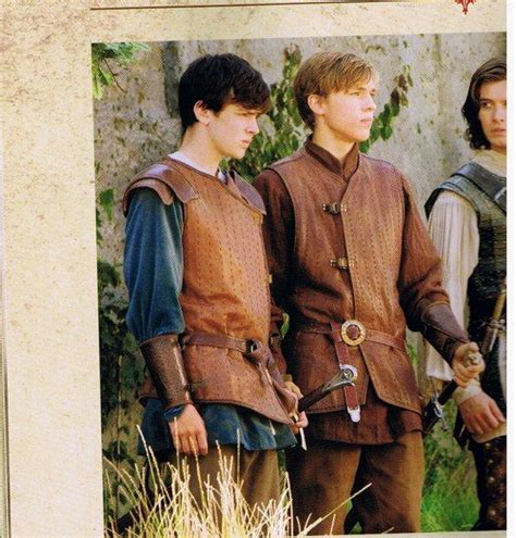 film narnia edmund edmund pevensie and peter pevensie and half of prince
