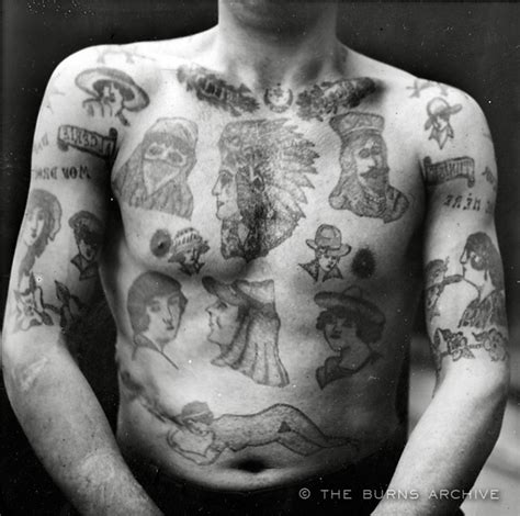 russian tattoo history 19th century french criminal tattoos tattoo pinterest