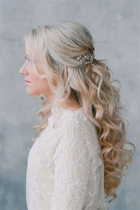 Half Up Wedding Hairstyles by Half Up Hair 17 Half Up Wedding Hairstyles Tania Maras