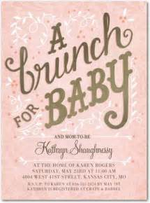 brunch for baby taffy baby shower invitations in taffy alma