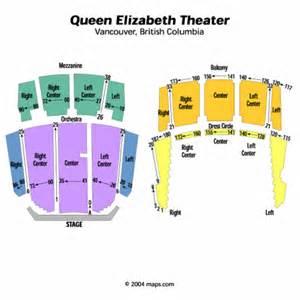 Queen Elizabeth Theatre Floor Plan Queen Elizabeth Theatre Seating Chart Queen Elizabeth