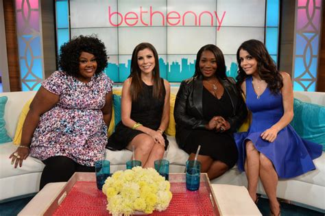 bevy smith in swimsuit nene leakes bevy smith and miss america visit bethenny s