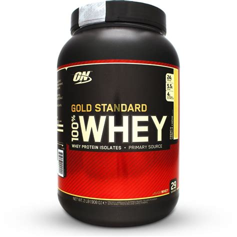 Whey Protein optimum nutrition 100 whey gold standard
