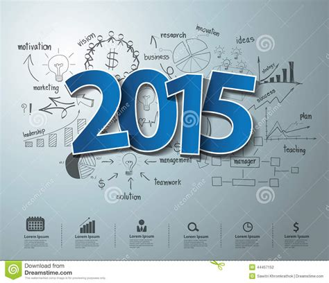 drawing themes 2015 vector blue tags label 2015 text design on creative