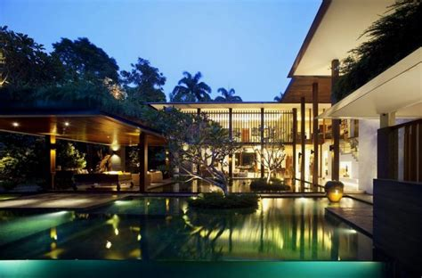 stunning house with pool and view big house with beautiful ponds as cooling elements the