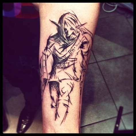 cool anime tattoos 40 cool anime designs what why and how about it