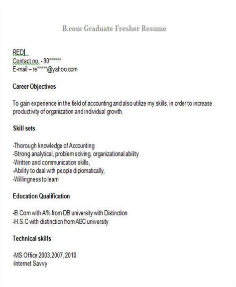 post graduate fresher resume format 42 professional fresher resumes sle templates