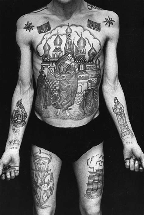 russian mafia tattoos russian mob tattoos
