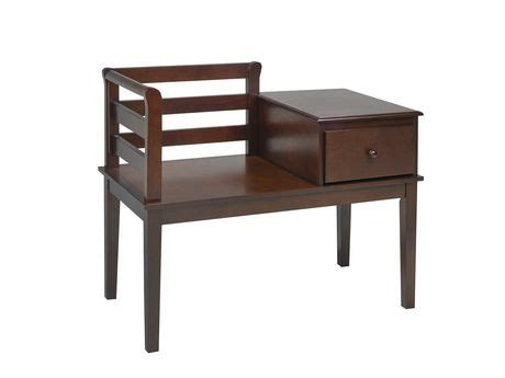hallway benches canada solid wood hallway bench with storage espresso walmart