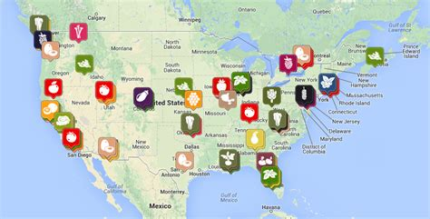 map near me ripenearme helps you find homegrown produce environmental