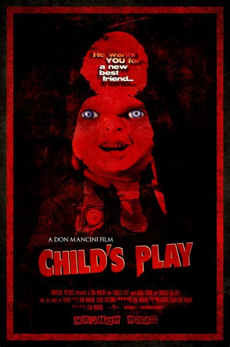 chucky movie remake child s play remake horror movies fan art 24368593