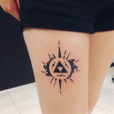85 mighty triforce tattoo designs amp meaning discover