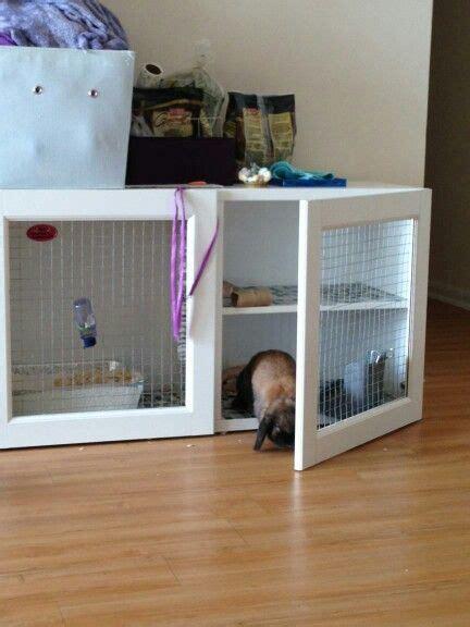 conejera diy ikea bunny hutch diy rabbit pinterest conejo