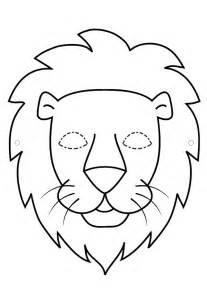Pdf Masque Lion Noir Et Blanc Bricolage Pinterest