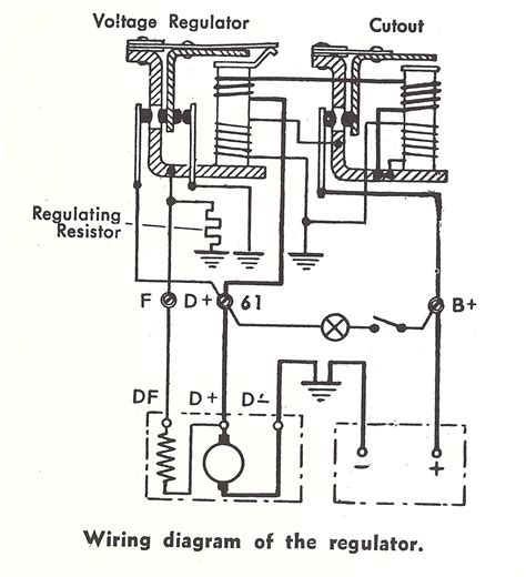 wiring diagram generator voltage regulator gallery
