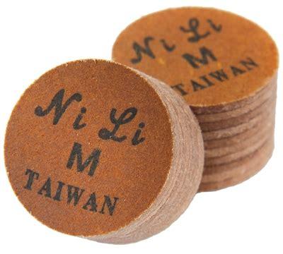 Nili Original Cue Tip 14 Mm Medium Laminated Billiard Biliar Pool nili laminated cue tip mueller s billiard dart supplies
