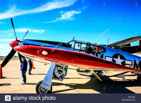 mustang fighter plane wwii american p51c mustang fighter plane stock photo
