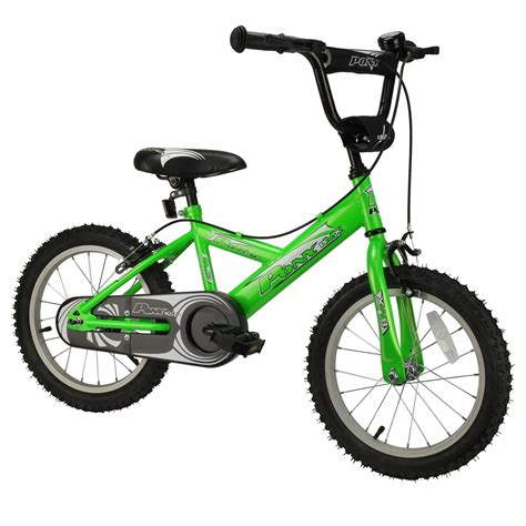 16 inch bike pony 16 inch bmx bicycle green jollymap