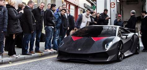 Lamborghini South Kensington Lamborghini Sesto Elemento Arrival In Showroom In