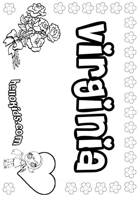 coloring page virina virginia coloring pages hellokids com