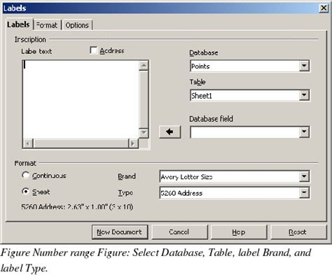 printing address labels with openoffice openoffice writer printing mailing labels