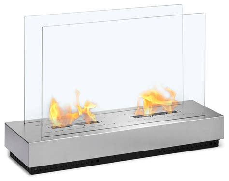 free standing floor indoor outdoor ethanol fireplace