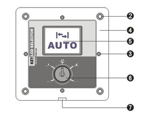 roller shutter key electrical switch for automatic sensor